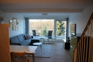 Wohnzimmer Sicht vom Eingangsbereich
