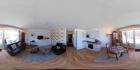 Panoramabild Wohnen-Essen-Küche