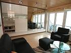 Wohnbereich mit integriertem Esstisch